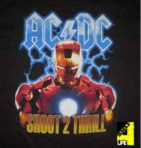 "AC/DC: ""IRON MAN 2"": MONEY FOR NOTHING"