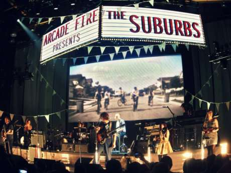 "ARCADE FIRE: ""THE SUBURBS"" (2010) , ALBUM HISTORICO"