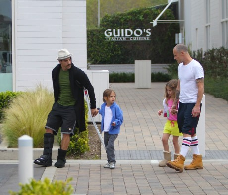 Anthony Kiedis and Flea Have a Playdate with Thier Kids