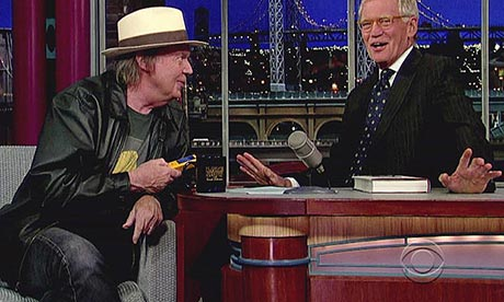 neil young and david letterman