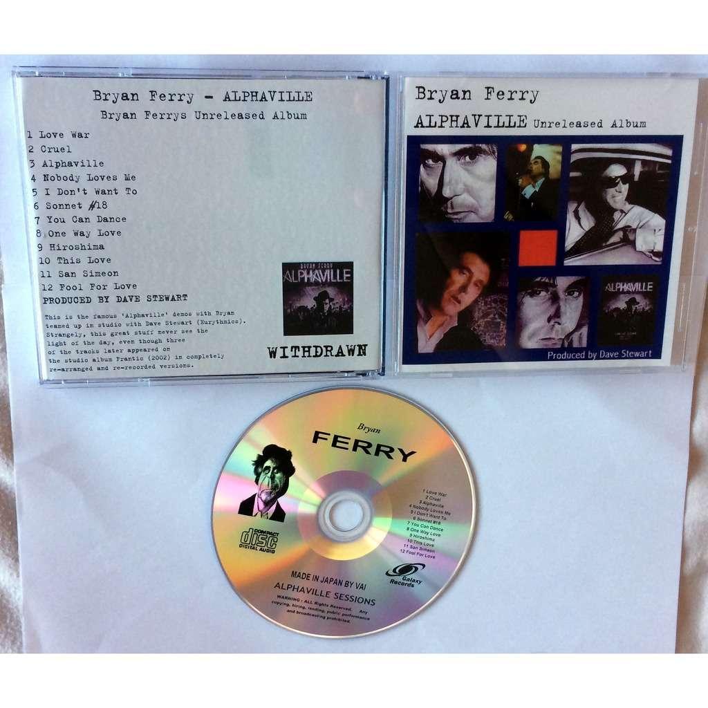 """BRYAN FERRY : ESCUCHA COMPLETO """"ALPHAVILLE"""", EL ALBUM QUE LE PRODUJO  DAVE STEWART Y QUE NUNCA SALIO"""