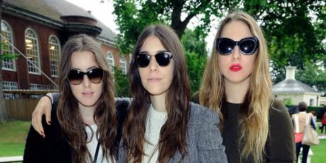 Unique - Arrivals: London Fashion Week SS14