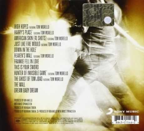"BRUCE SPRINGSTEEN: ""HIGH HOPES"", ALBUM HISTORICO"