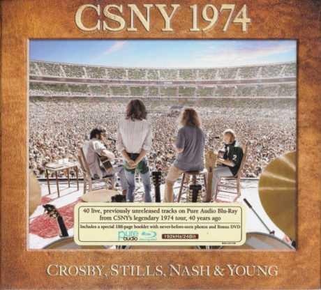"""""""CSNY 1974"""": CROSBY, STILLS, NASH & YOUNG EN SU GIRA MÁS AMBICIOSA HACE 45 AÑOS"""