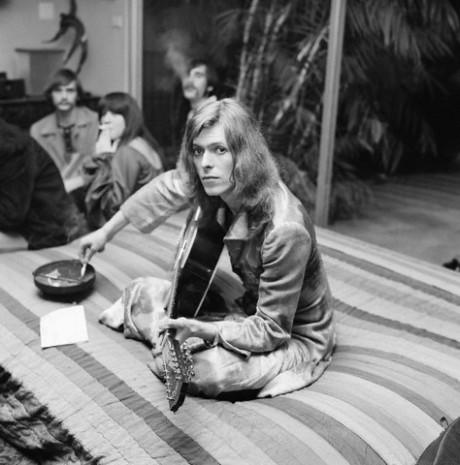 British Singer David Bowie