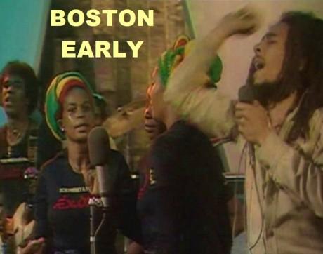 Bob Marley Boston 1978