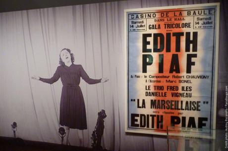 expo edith piaf bnf paris - 1
