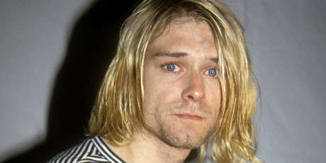 Kurt Cobain attending the 1993 MTV Video Music Awards at Universal City, CA 09/02/93 ?2003 Vincent Zuffante_Star File (Photo by Terry McGinnis/WireImage)