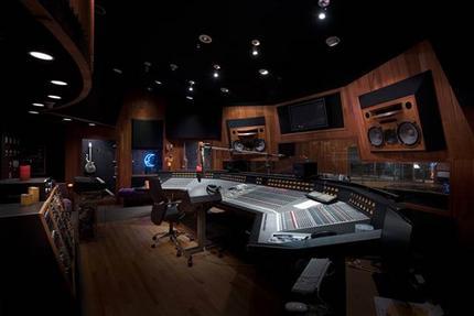 En esta imagen sin fecha proporcionada por Paisley Park/NPG Records, el estudio de grabación de Prince, Studio A, en Paisley Park, en Chanhassen, Minnesota. (Paisley Park/NPG Records via AP)