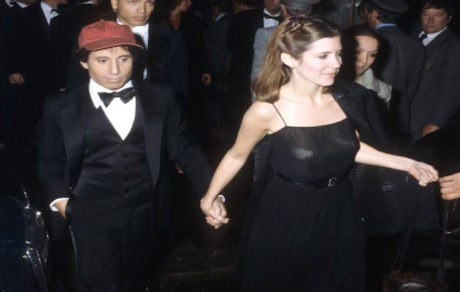 Carrie Fisher and Paul Simon (Photo by Tom Wargacki/WireImage)