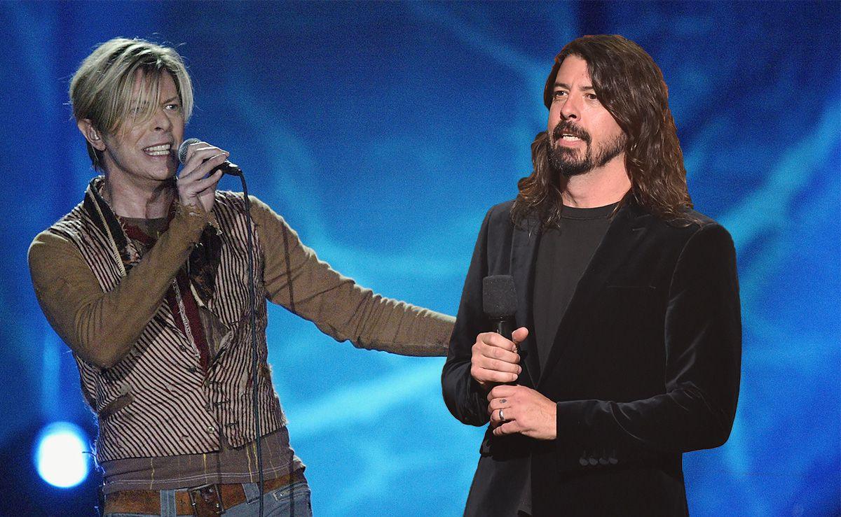 El día que David Bowie rechazó colaborar conDave Grohl