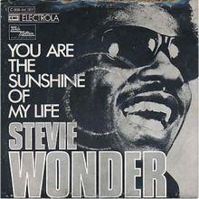 """STEVIE WONDER HOY 69 AÑOS): """"YOU´RE THE SUNSHINE OF MY LIFE: ¿LA MEJOR CANCION DE AMOR DE LA HISTORIA?"""