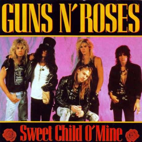 "GUNS AND ROSES: ""SWEET CHILD OF MINE "", LA CANCION QUE ODIA SLASH"