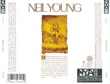 NEIL YOUNG: SU PRIMER ALBUM , HOY HACE 50 AÑOS