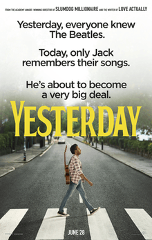"""YESTERDAY"" , LA PELICULA DEL ""NO EXISTIERON"" LOS BEATLES"
