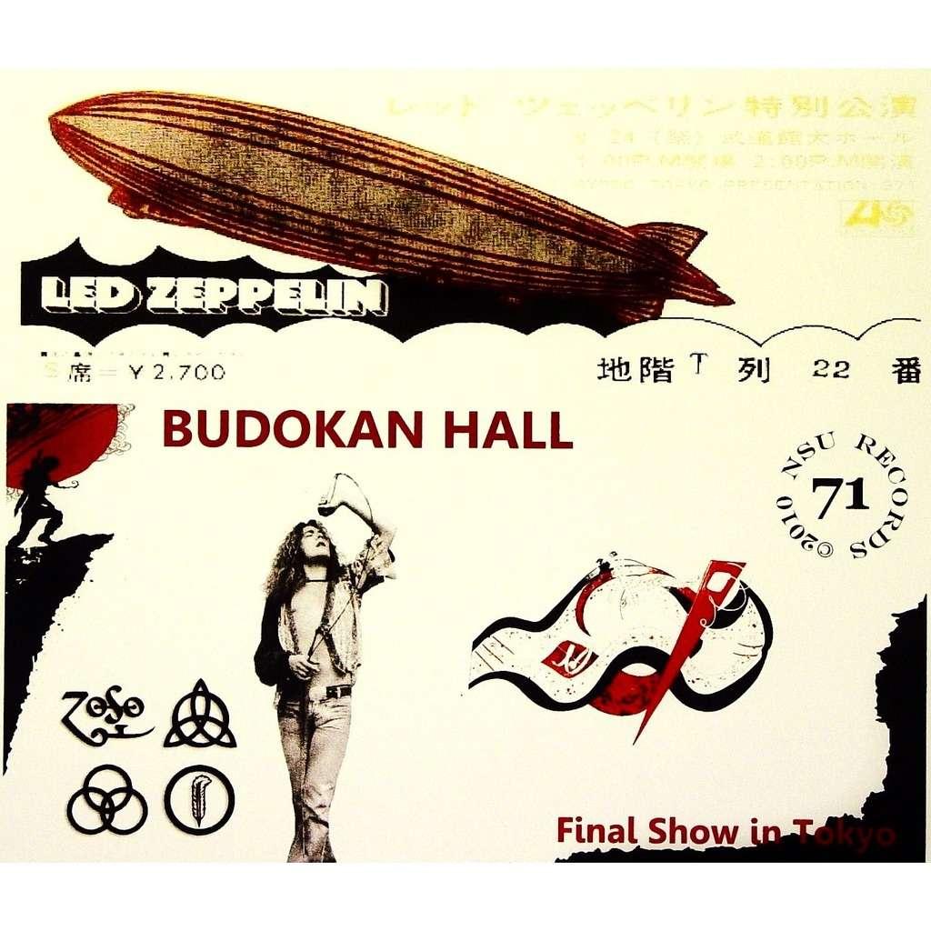 Led Zeppelin, una vieja película perdida en Tokyo