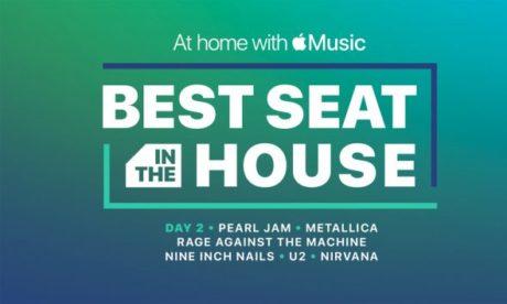 """""""BEST SEAT IN THE HUSE"""", GRANDES CONCIERTOS EN APPLE"""