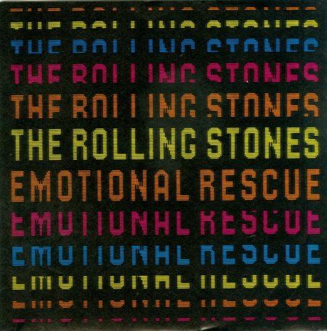 "ROLLING STONES : ""EMOTIONAL RESCUE"" CUMPLE 40 AÑOS"