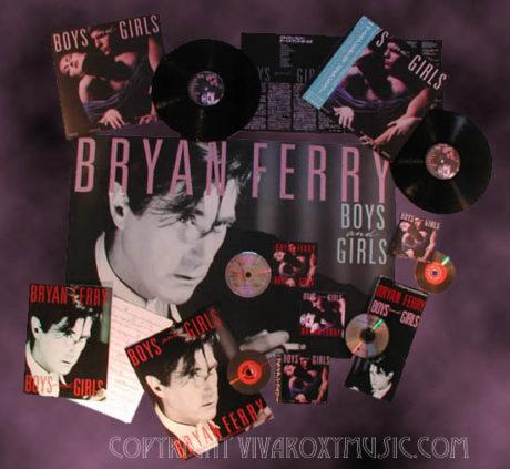 "BRYAN FERRY: ""BOYS AND GIRLS"", ALBUM HISTORICO"