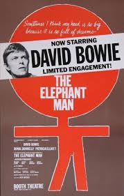 "DAVID BOWIE: Y SU LTIMO DIA EN  ""THE ELEPHANT MAN"""