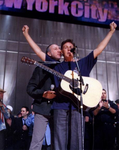 """PETE TOWNSHEND: """"TUVO PAUL MCCARTNEY O LOS BEATLES ALGO QUE VER CON EL ROCK"""""""