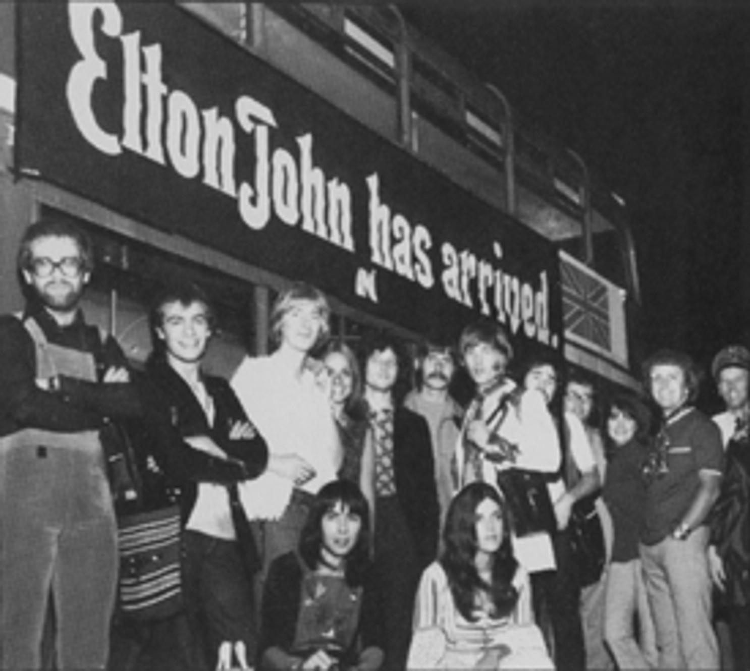 ELTON JOHN : CUANDO CONQUISTO AMERICA