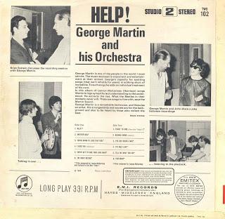 """""""HELP!"""" : EL ALBUM ORQUESTAL DE LOS BEATLES DE GEORGE MARTIN"""