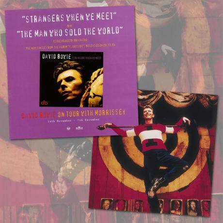 """DAVID BOWIE ; 25 AÑOS DEL EXCEPCIONAL """"STRANGERS WHE WE MEET"""""""