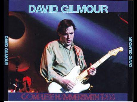 DAVID GILMOUR: EL INOVIDABLE CONCIERTO EN EL HAMMERSMITH ODEON (1984)
