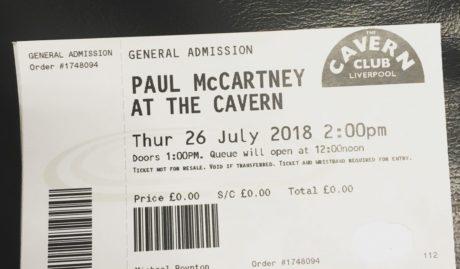 PAUL MCCARTNEY: SU ACTUACIÓN EN THE CAVERN DE 2018